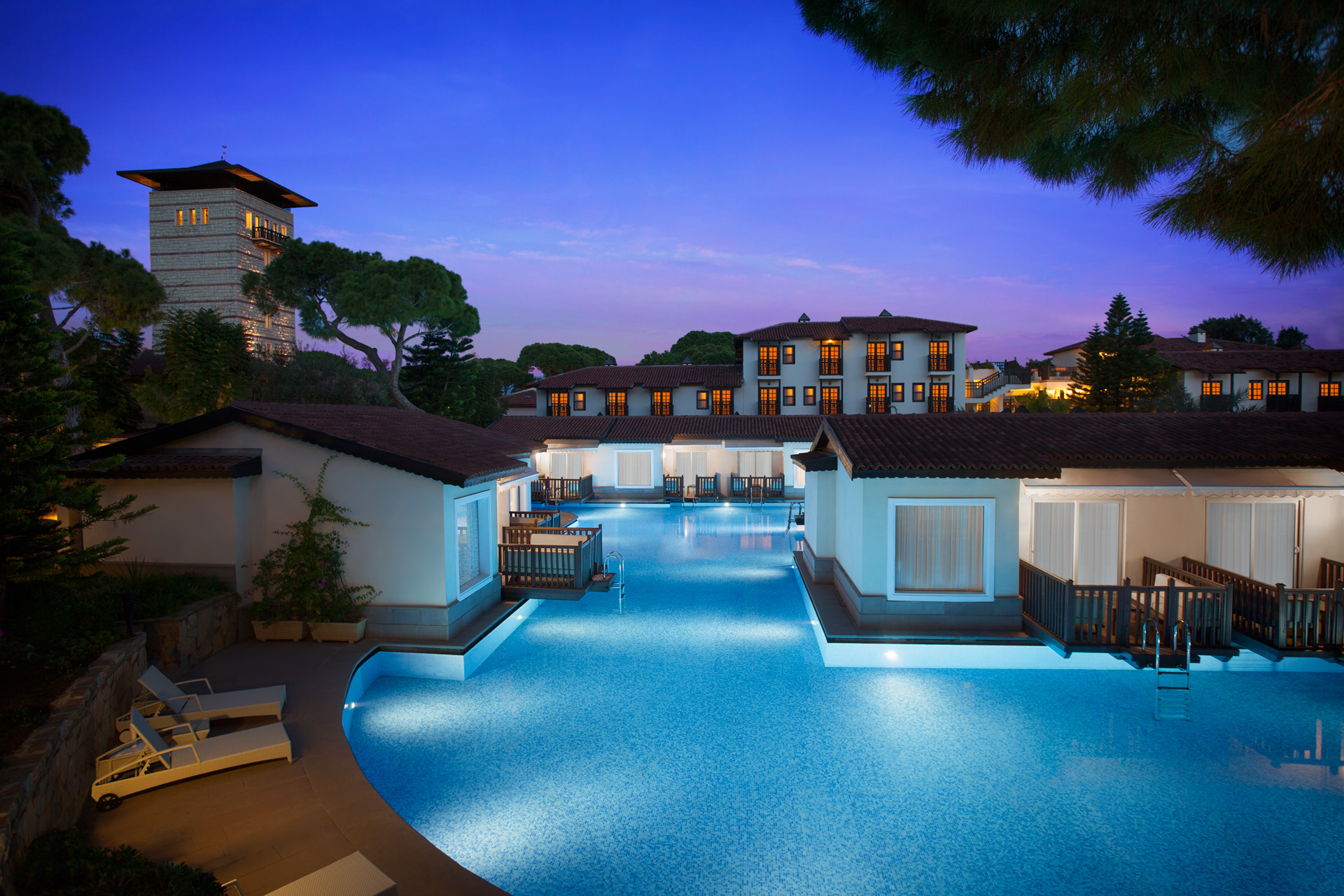 Paloma Grida Resort | Villa Exterior View