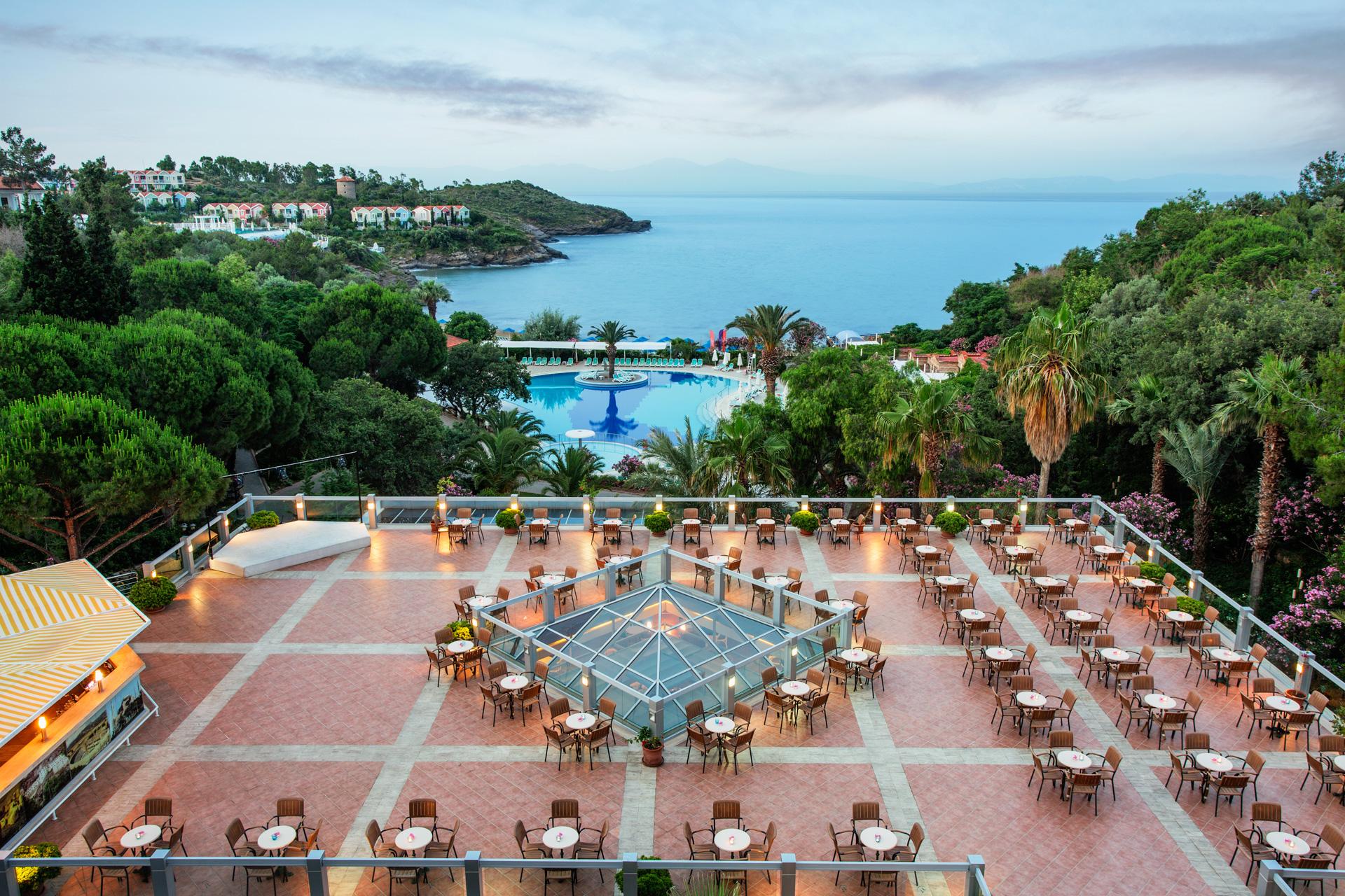 Paloma Club Sultan | Lobby Terrace