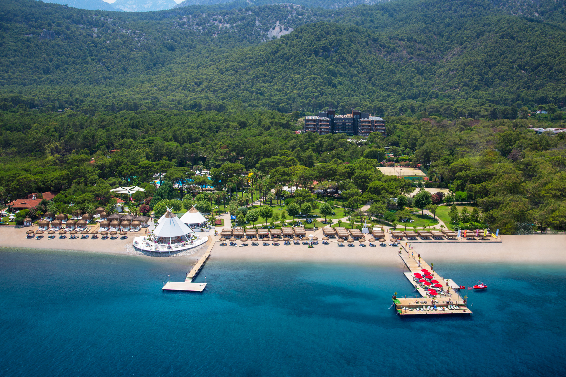 Renaissance Antalya Beach Resort | Aerial View