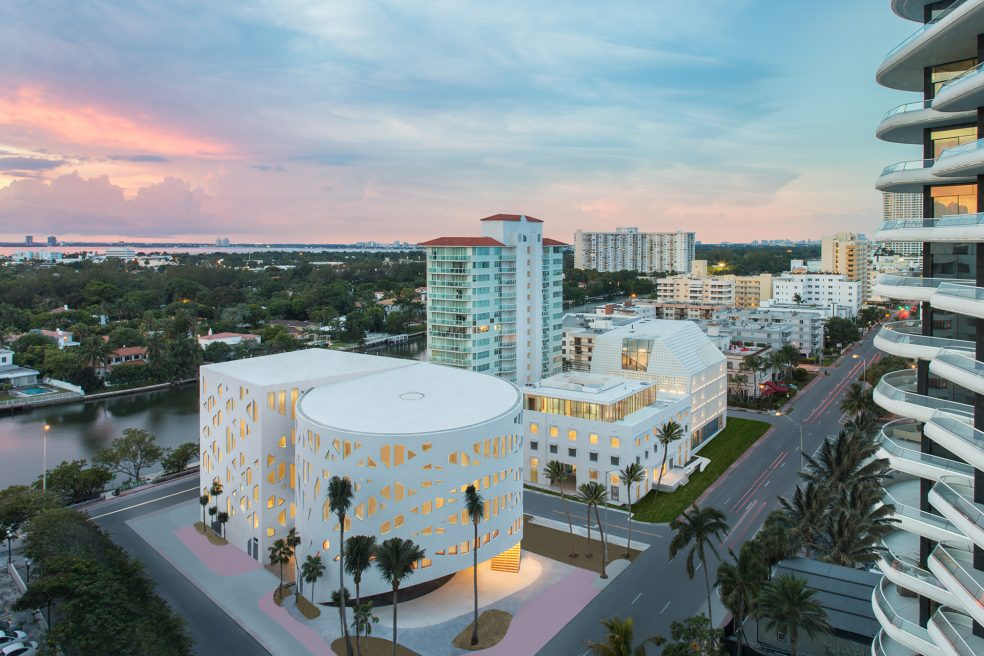 Faena Forum Miami Beach Architectural Retouching